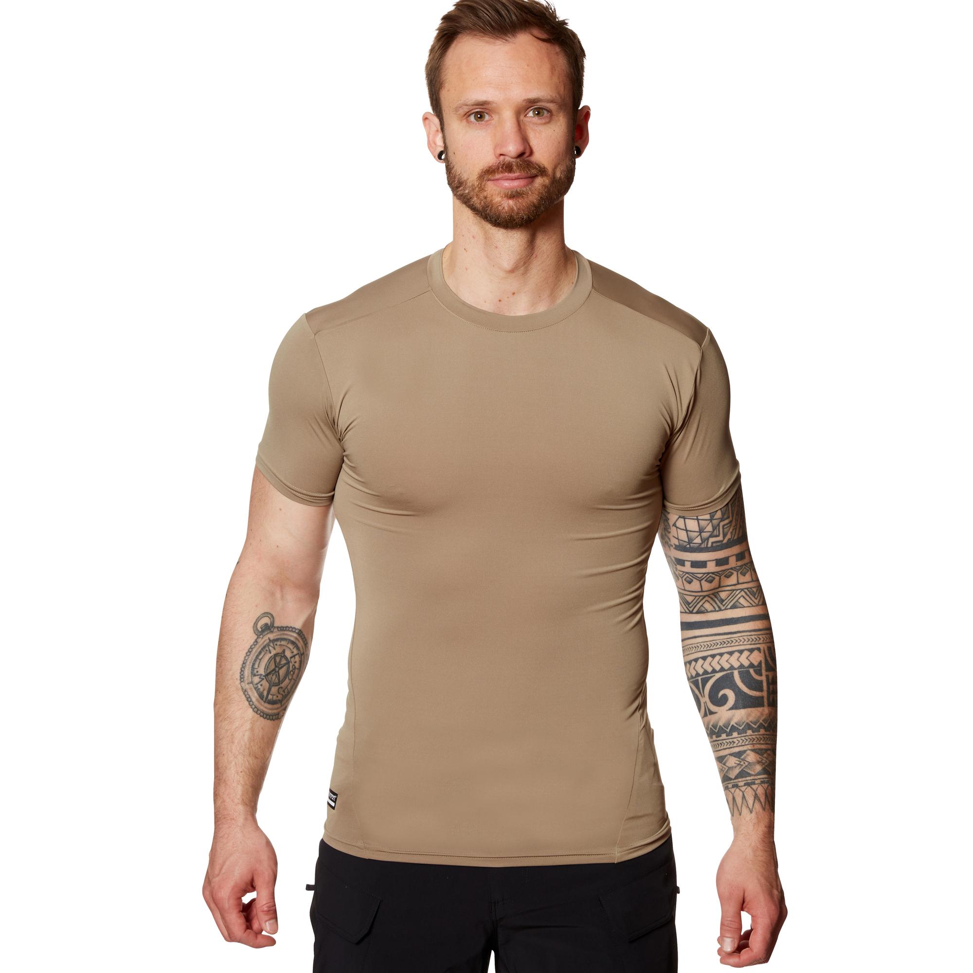 Under Armour Tactical T-Shirt HeatGear Compression oliv