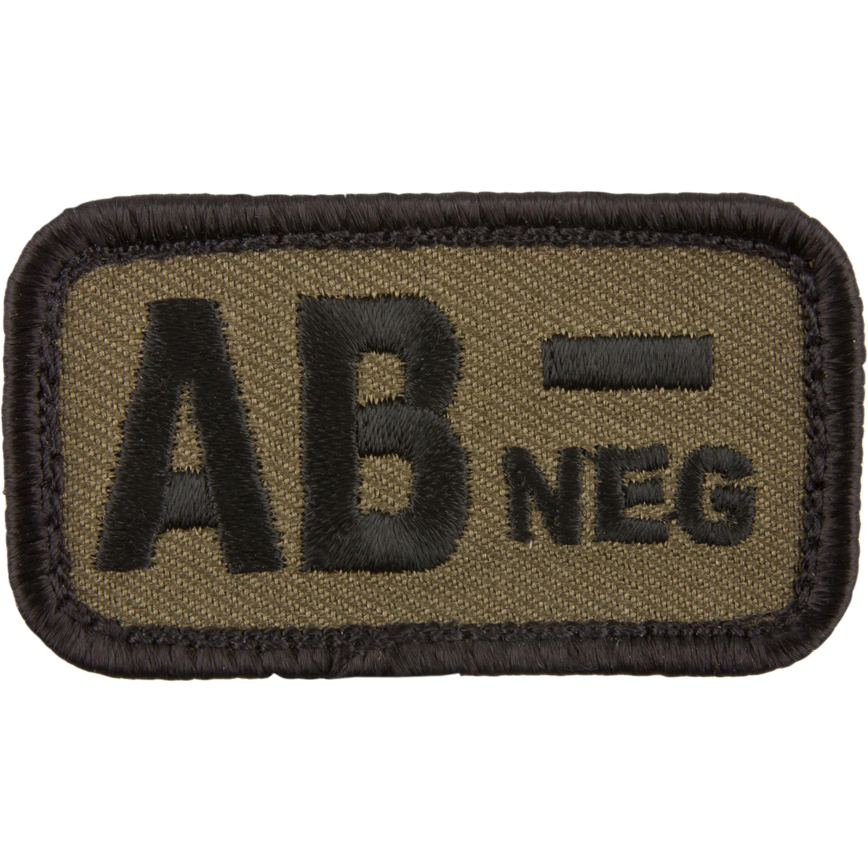 Café Viereck Patch Blutgruppe AB neg
