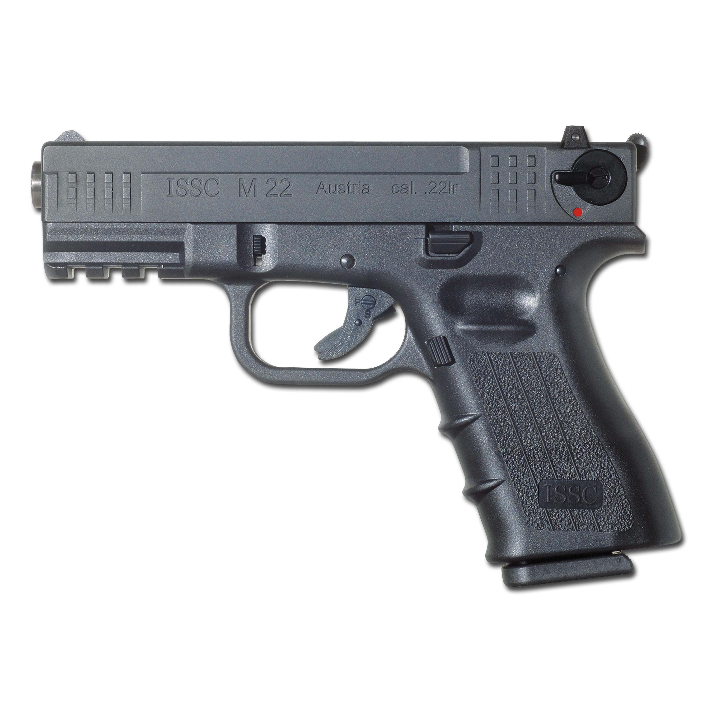 Pistole ISSC M22 brüniert schwarz