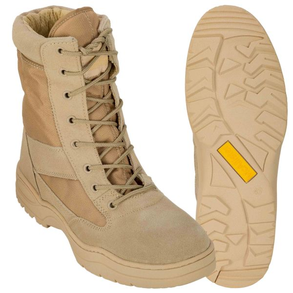 Stiefel Safari Outdoor Boots khaki
