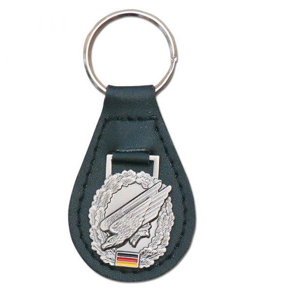 Schlüsselanhänger mit Barettabz. Fallschirmjäger