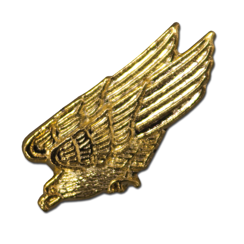 Pin Mini Metall stürzender Adler