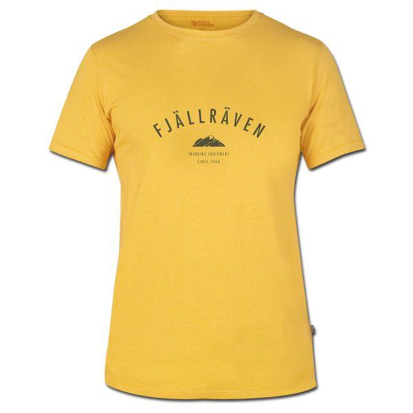 T-Shirt Fjällräven Trekking Equipment ocker