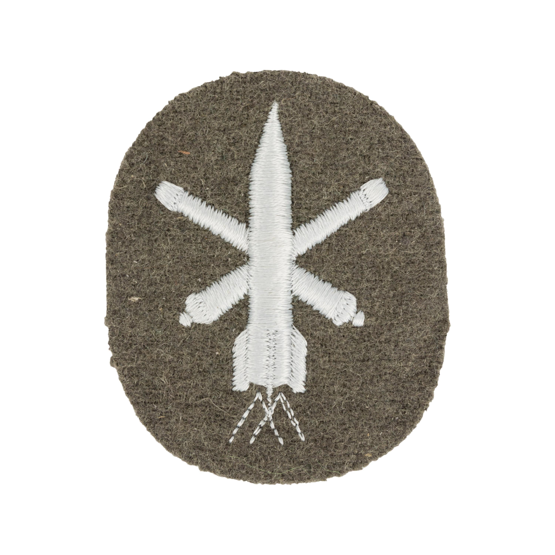 NVA Laufbahnabzeichen Grenztruppen grau