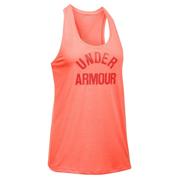 Under Armour Fitness Damen Threadborne Tank Top orange