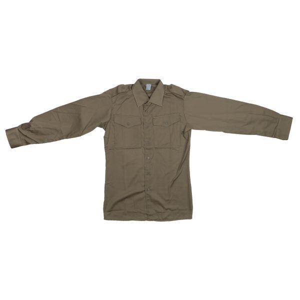 BH Feldhemd M75 ohne Abzeichen oliv neuwertig