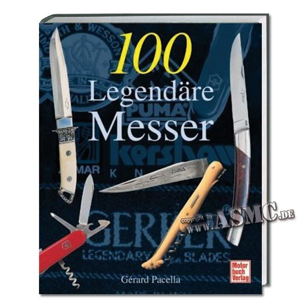 Buch 100 legendäre Messer