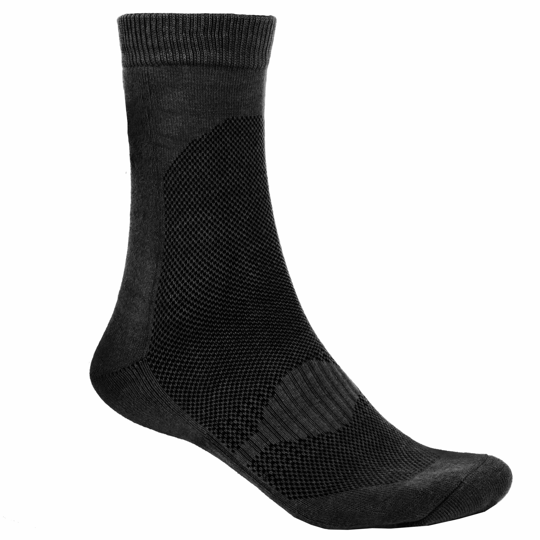 Socke Coolmax Schwarz