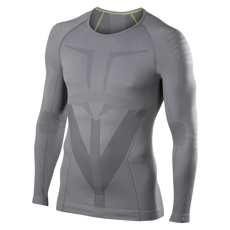 FALKE Longsleeved Shirt Tight Fit grau