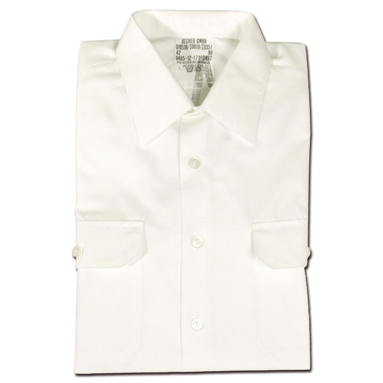 BW Diensthemd Langarm weiß gebraucht