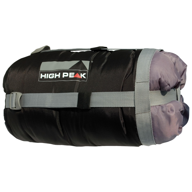 High Peak Kompressions-Packsack schwarz M