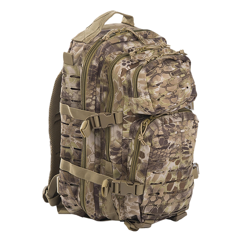 Rucksack US Assault Pack SM Laser Cut mandra tan