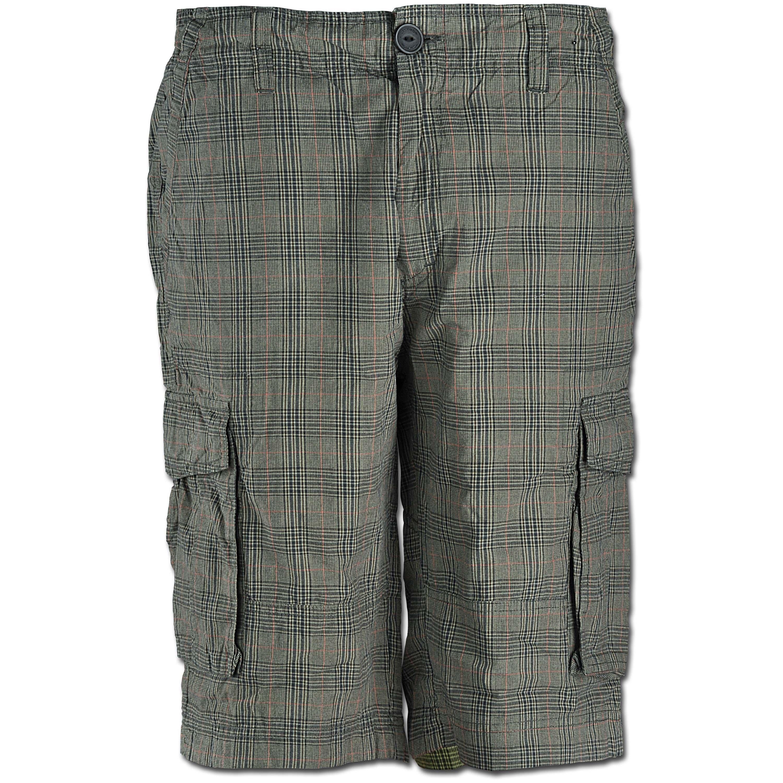 Vintage Industries Shorts Lance braun checkered