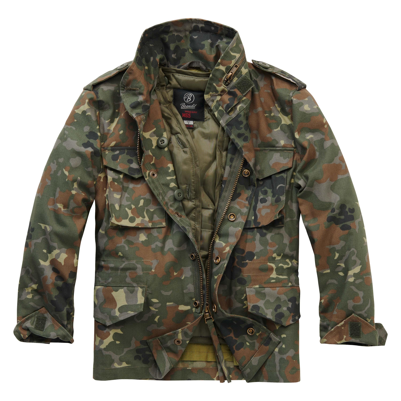 Brandit Jacke M65 Standard Jacket Kids flecktarn