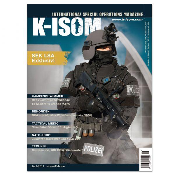 Kommando Magazin K-ISOM Ausgabe 01-2014