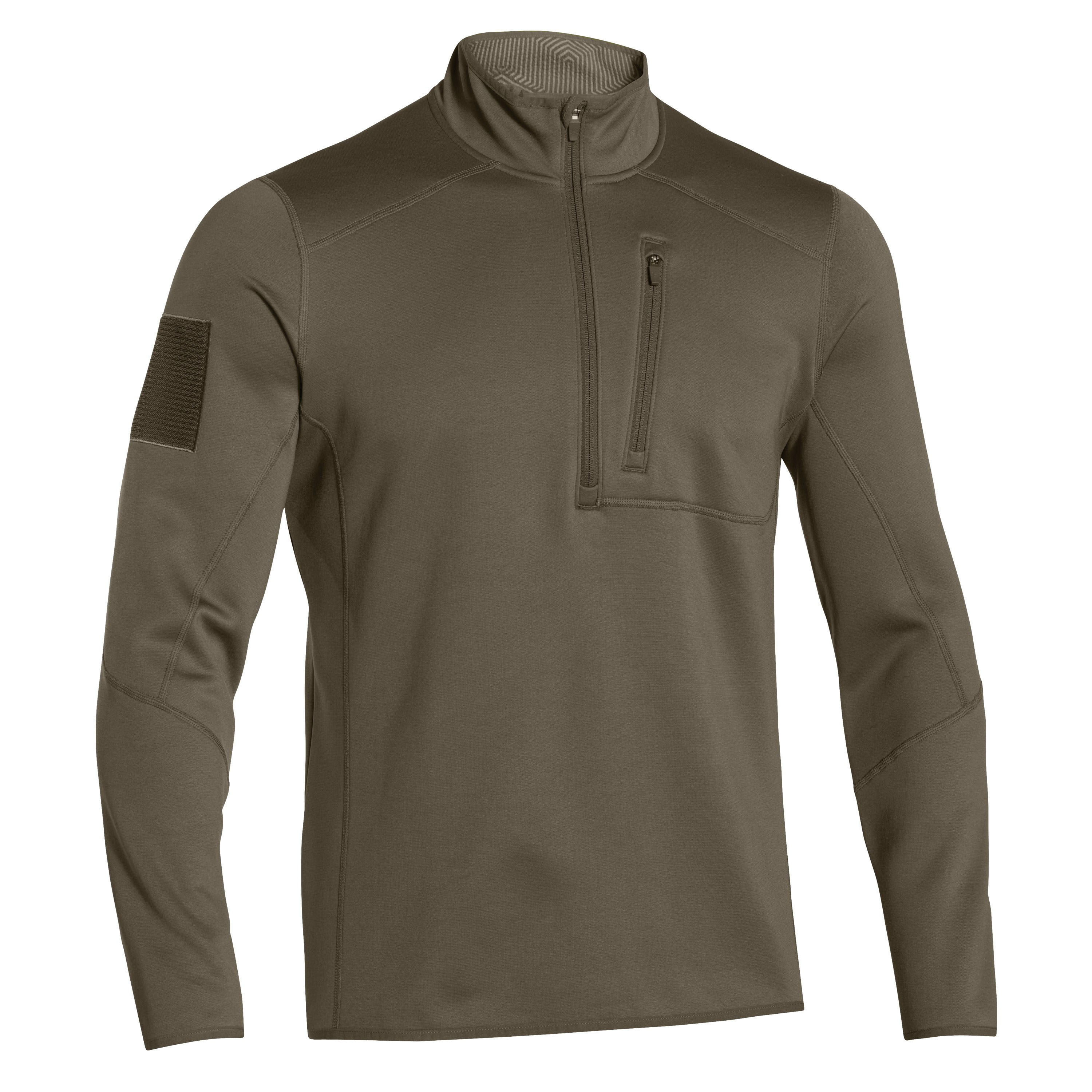 Under Armour Langarmshirt Tactical ColdGear Infrared oliv