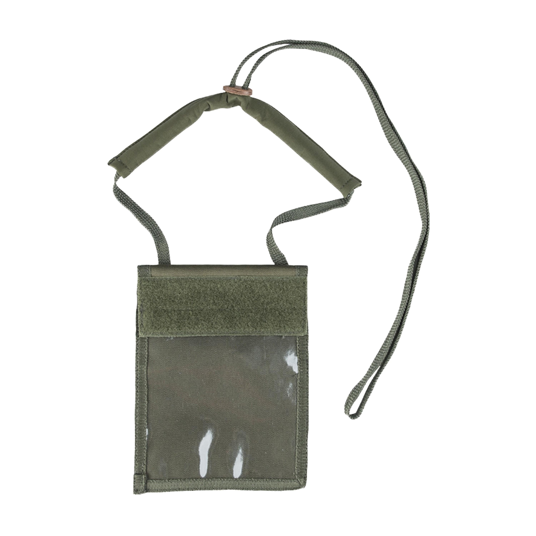 Ausweishülle Neck Wallet oliv