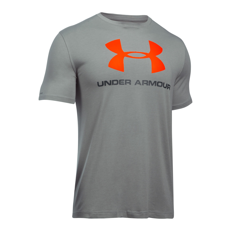 Under Armour Shirt Sportstyle Logo grau II