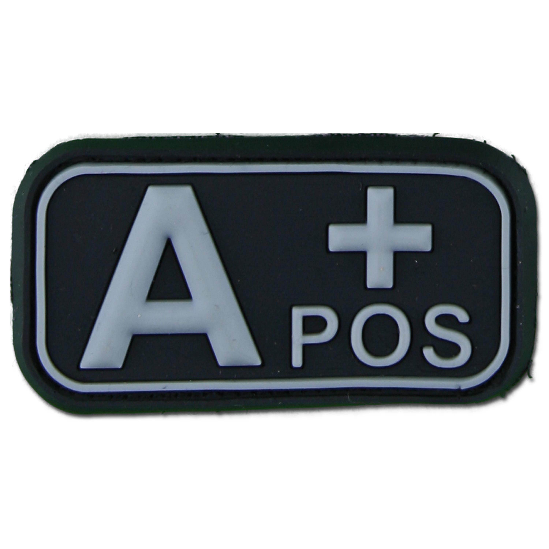 3D Blutgruppenpatch A Pos swat