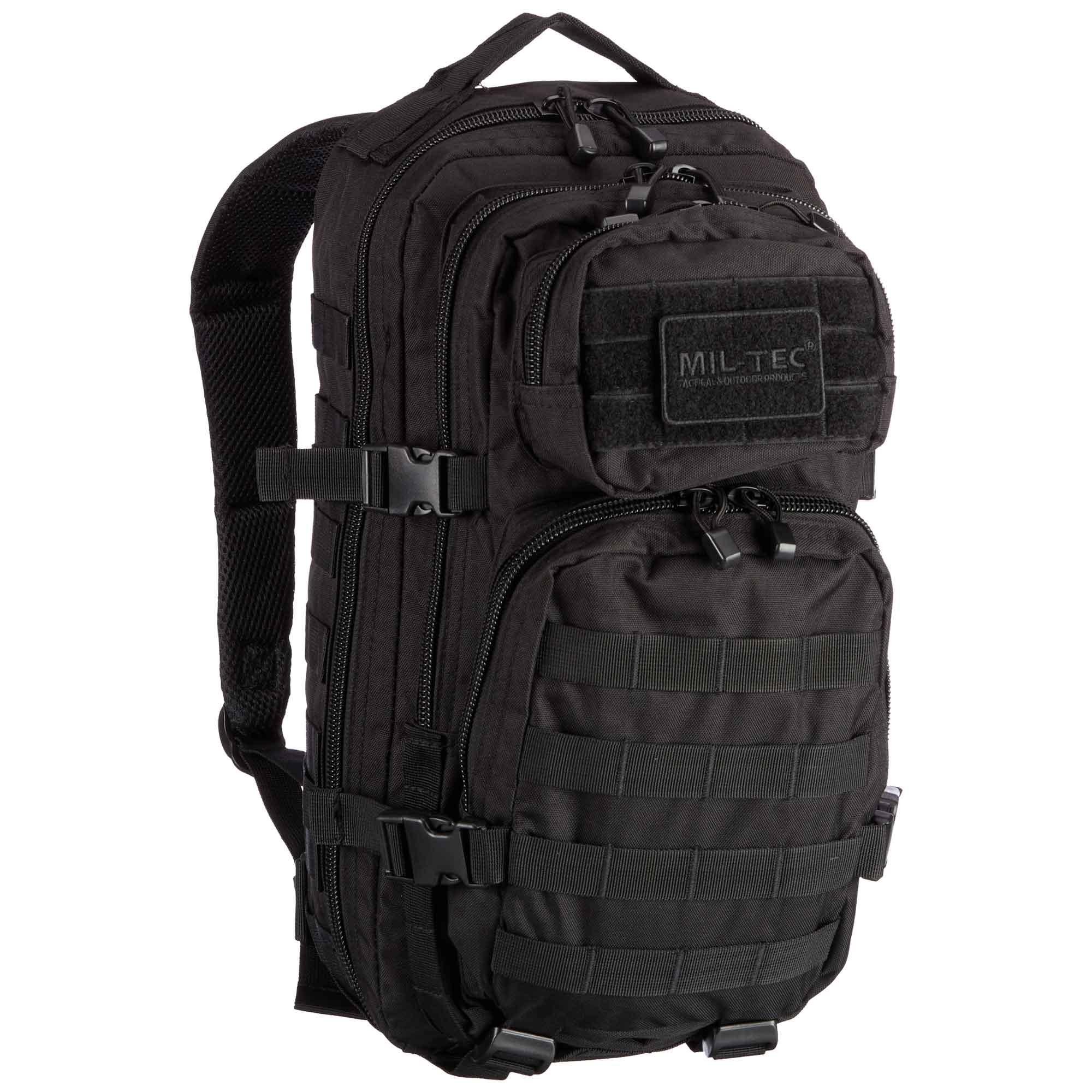 Rucksack US Assault Pack schwarz