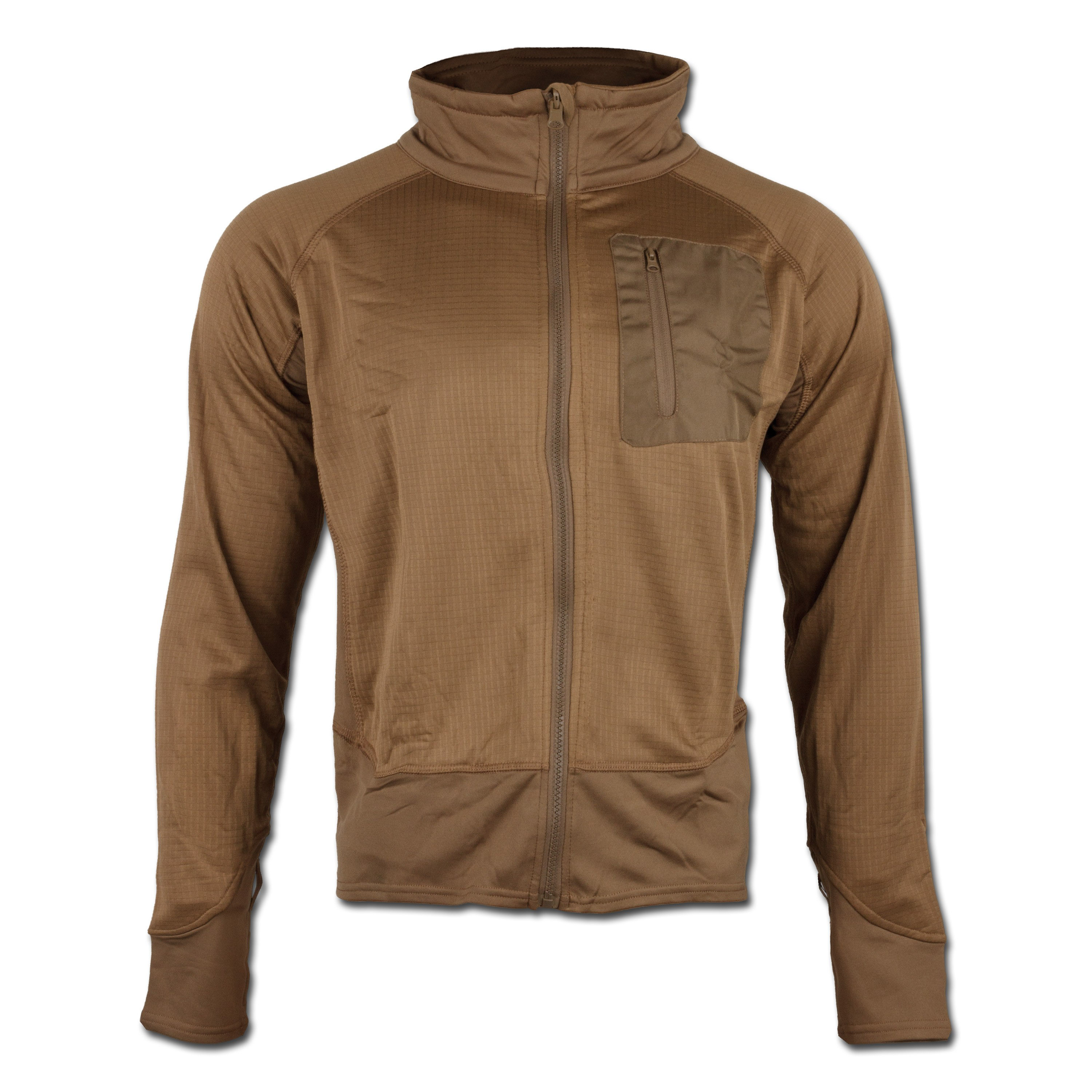 Tactical Shirt Mil-Tec Thermo coyote