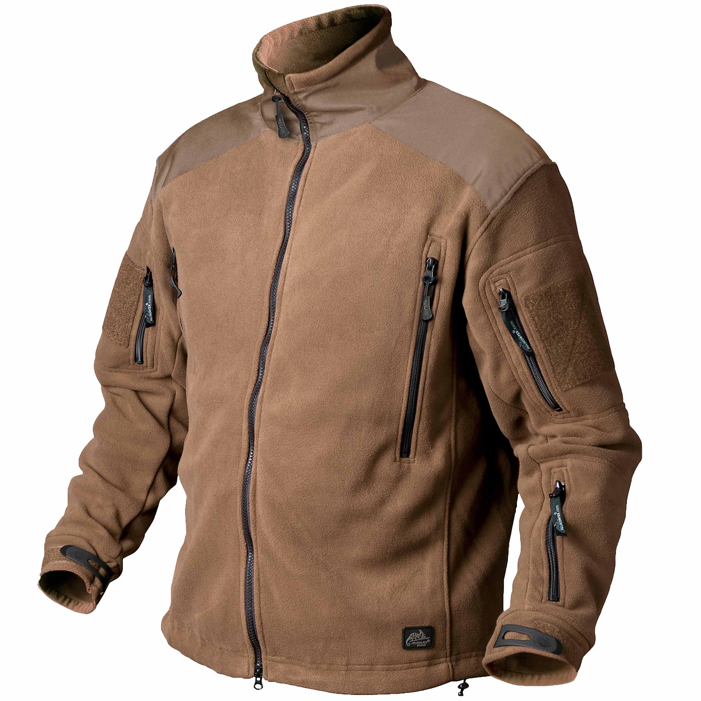 helikon-tex jacke liberty jacket double fleece coyote test