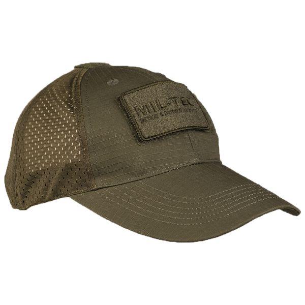 Baseball Cap mit Netzeinsatz oliv
