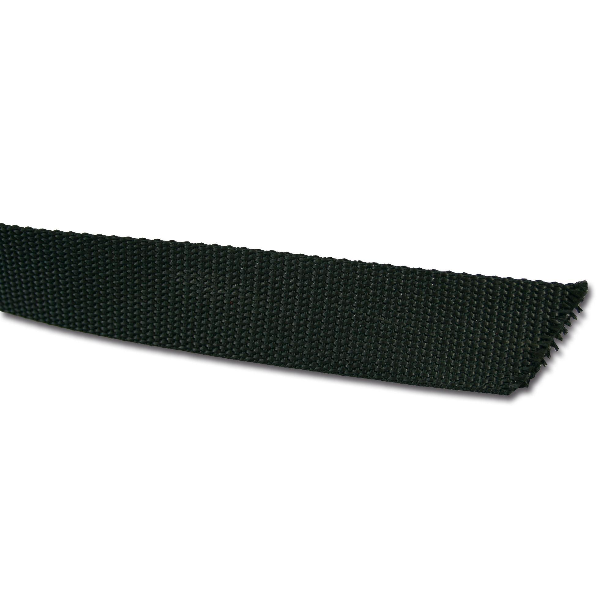 Webband US 30 mm schwarz