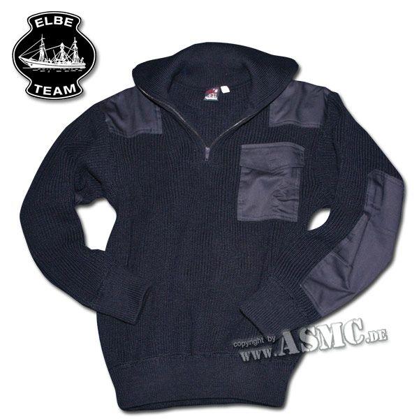Pullover Troyer Kommando blau