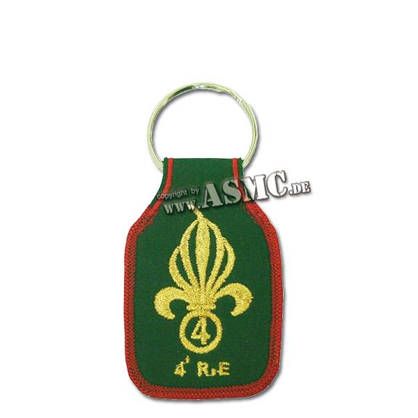 Schlüsselanhänger Fremdenlegion 4e RE