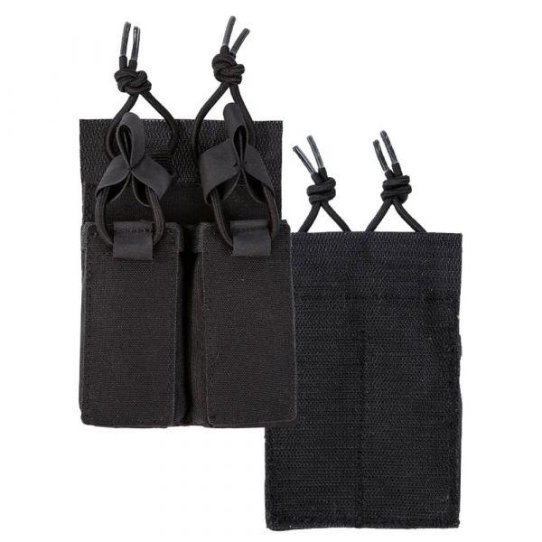 Mil-Tec Magazintasche Pistole Double mit Klettrücken schwarz