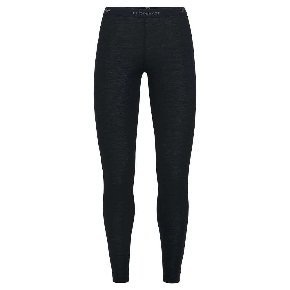Icebreaker Women Leggings Everyday Merino schwarz