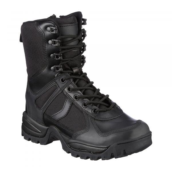 Mil-Tec Outdoor Stiefel Patrol Zip schwarz