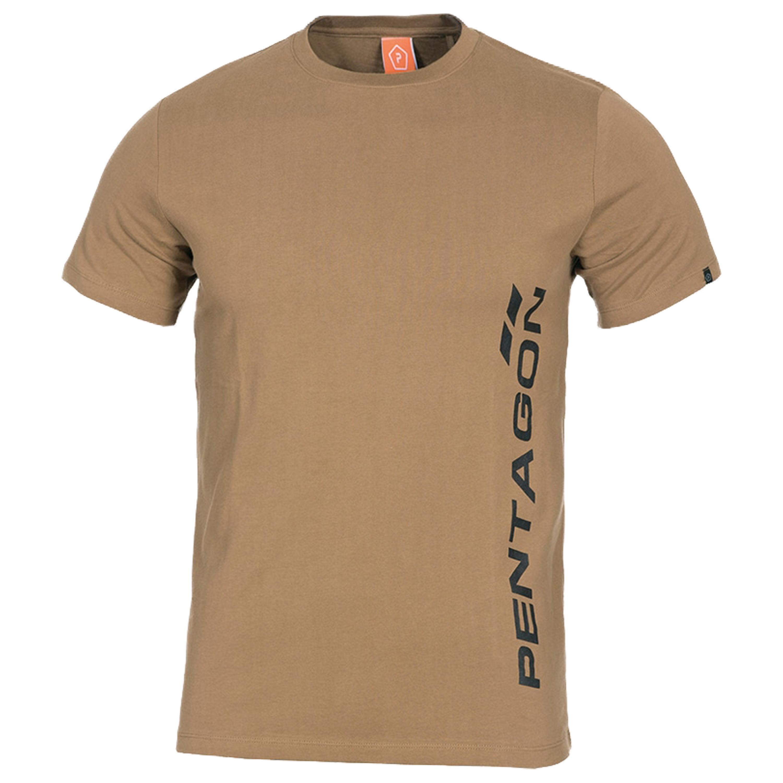 Pentagon T-Shirt Vertical coyote