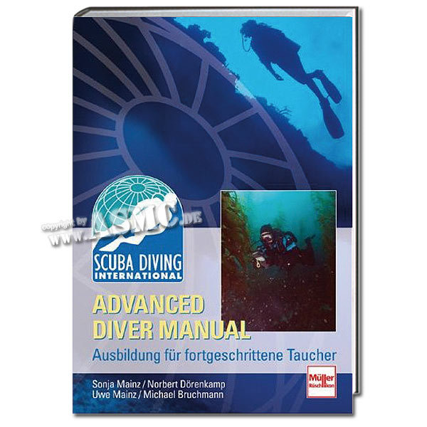 Buch Advanced Diver Manual