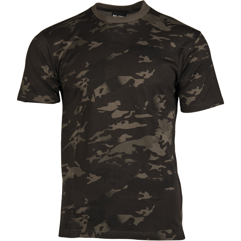 Mil-Tec T-Shirt Kids multitarn schwarz