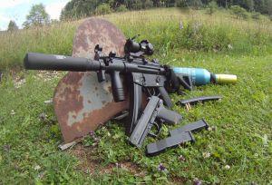 PS22 auf MP5 K SD