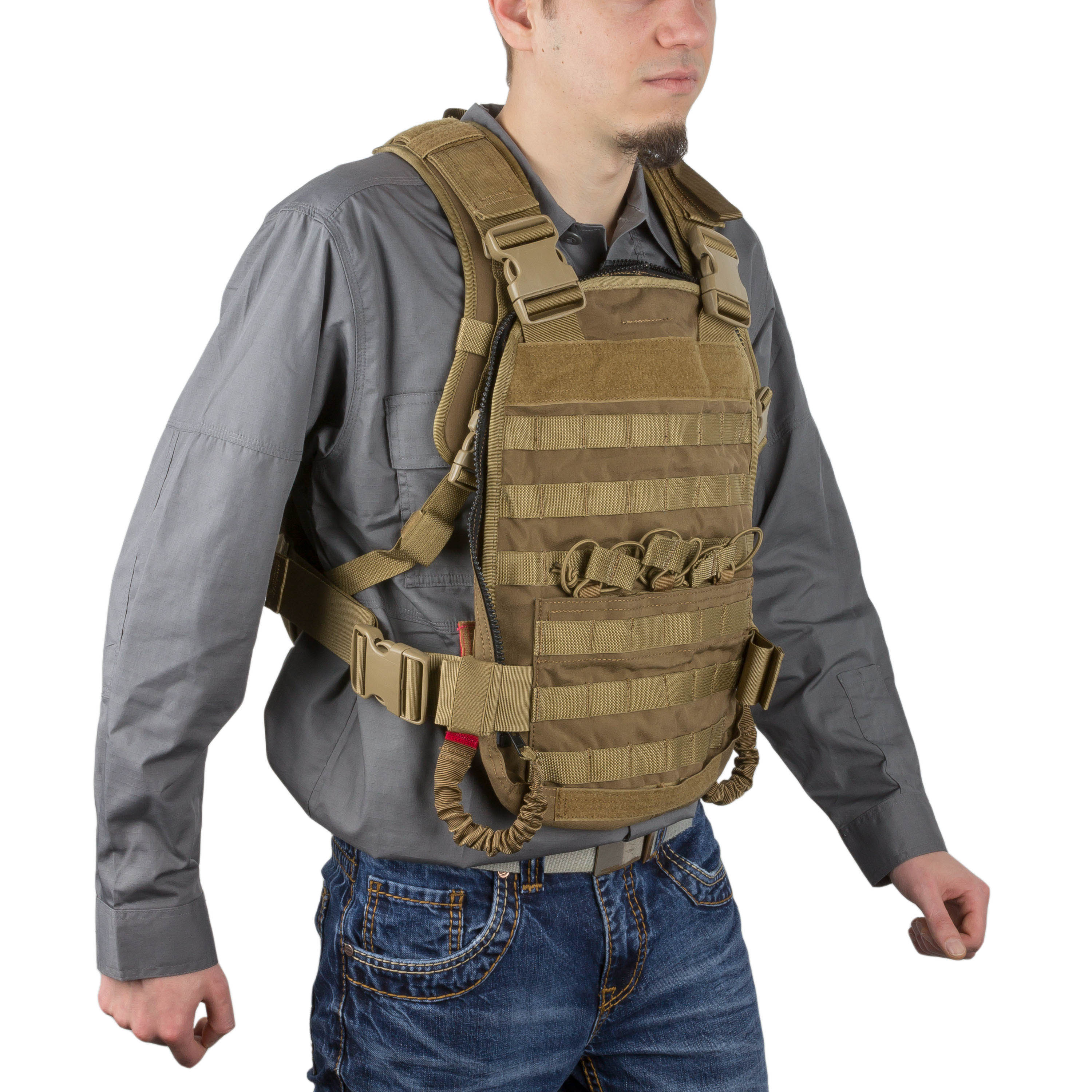 Wraith Tactical Rucksack CARR Pack coyote