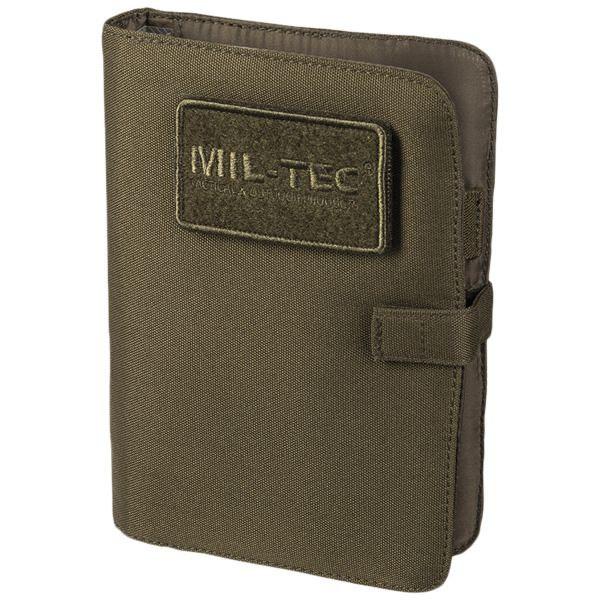 Tactical Notebook small oliv