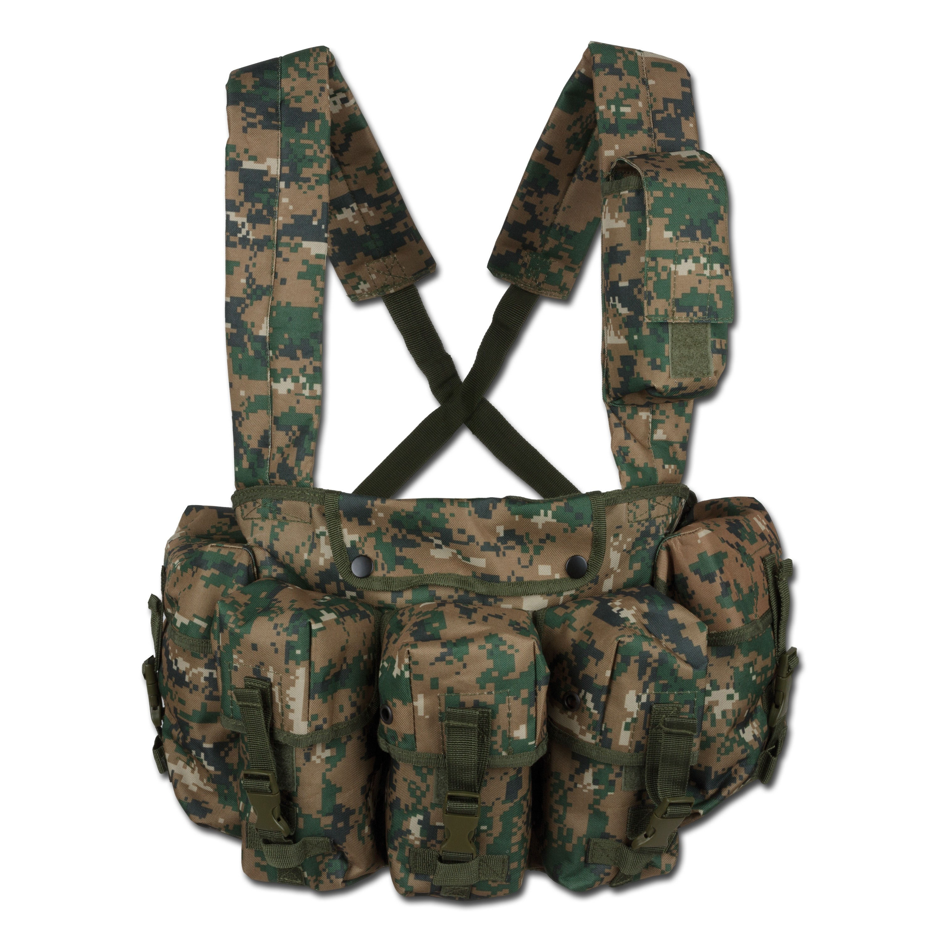 Chest-Rig digicamo woodland