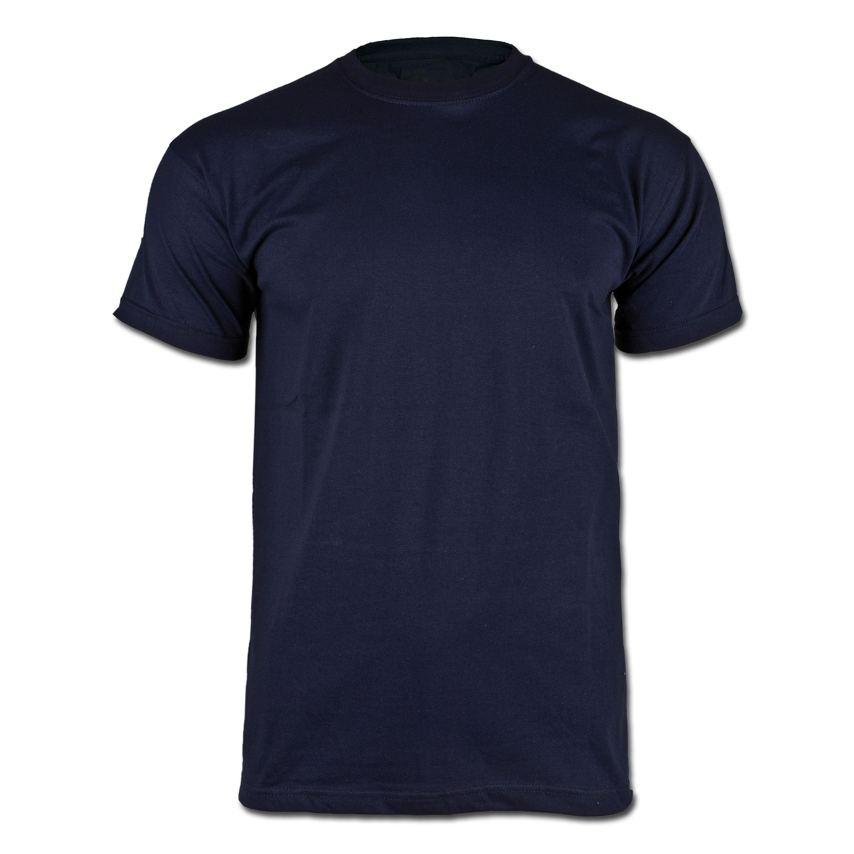 T-Shirt mit Hoheitsabzeichen Frankreich navy