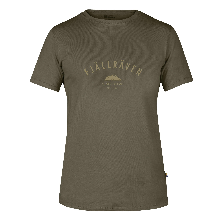 T-Shirt Fjällräven Trekking Equipment asphalt