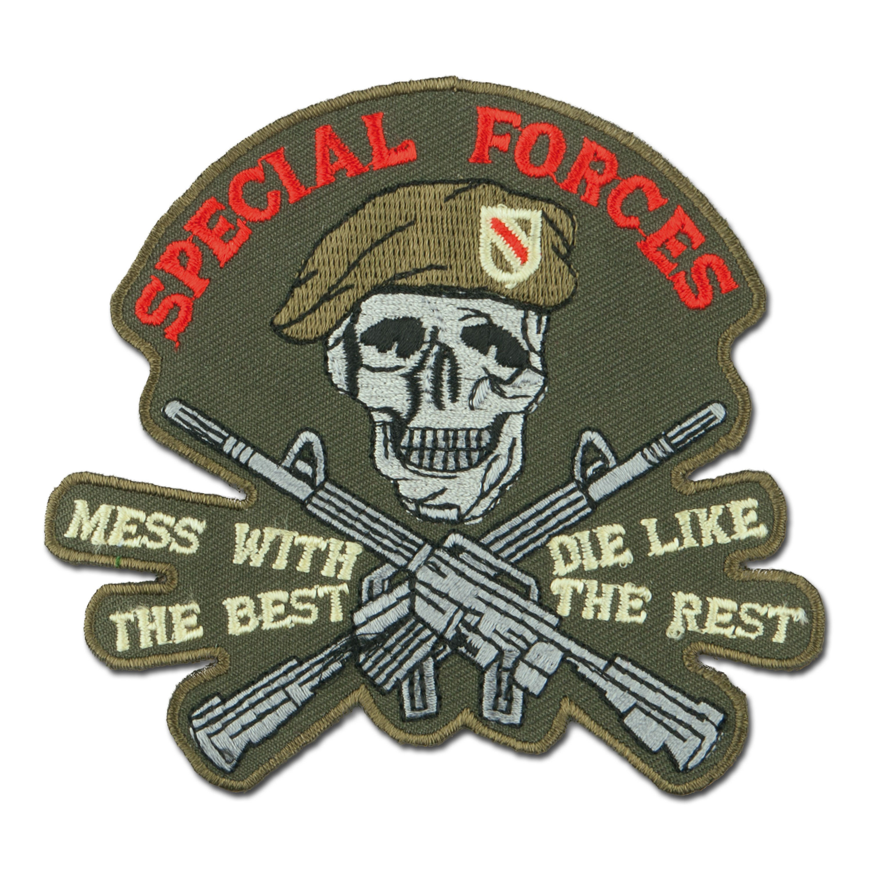 Abzeichen US Special Forces Skull-Rifles