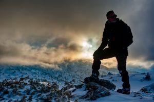 Devoluy Snow hiking