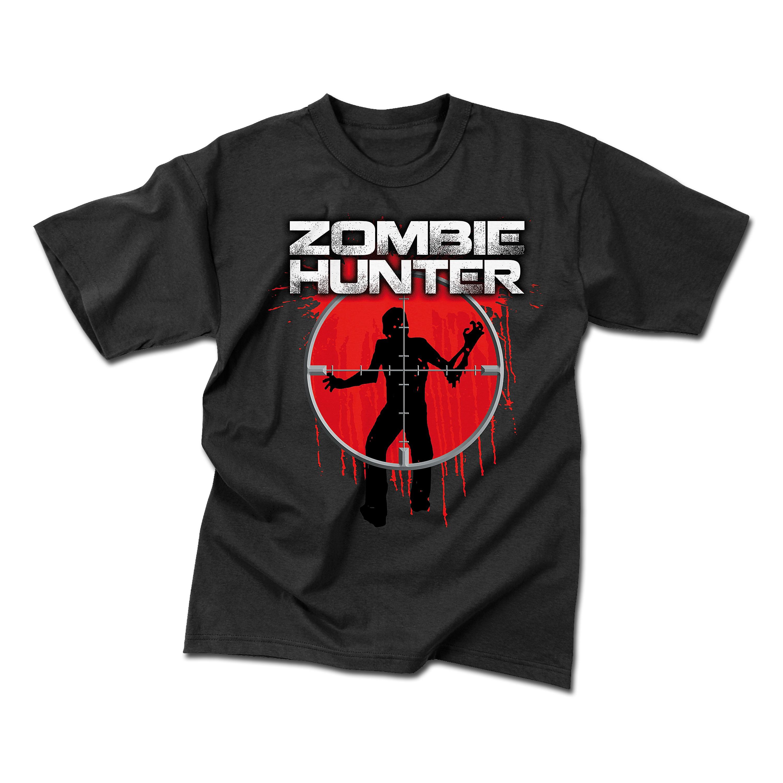T-Shirt Rothco Zombie Hunter schwarz