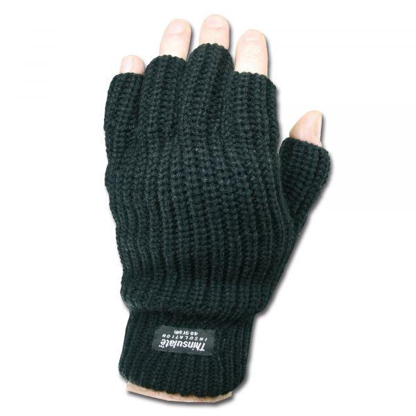 Handschuhe Fingerlinge Thinsulate schwarz