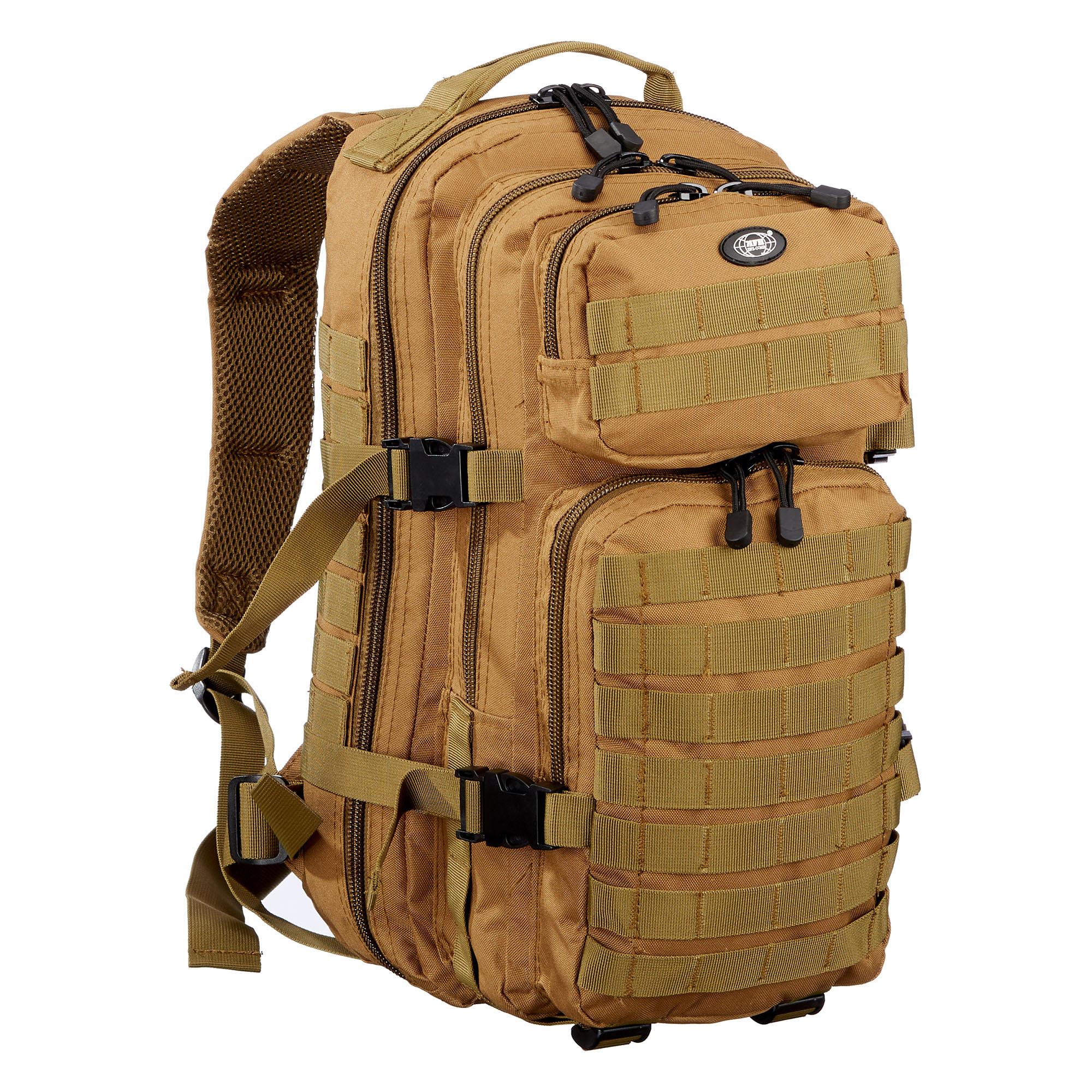MFH Rucksack US Assault Pack coyote