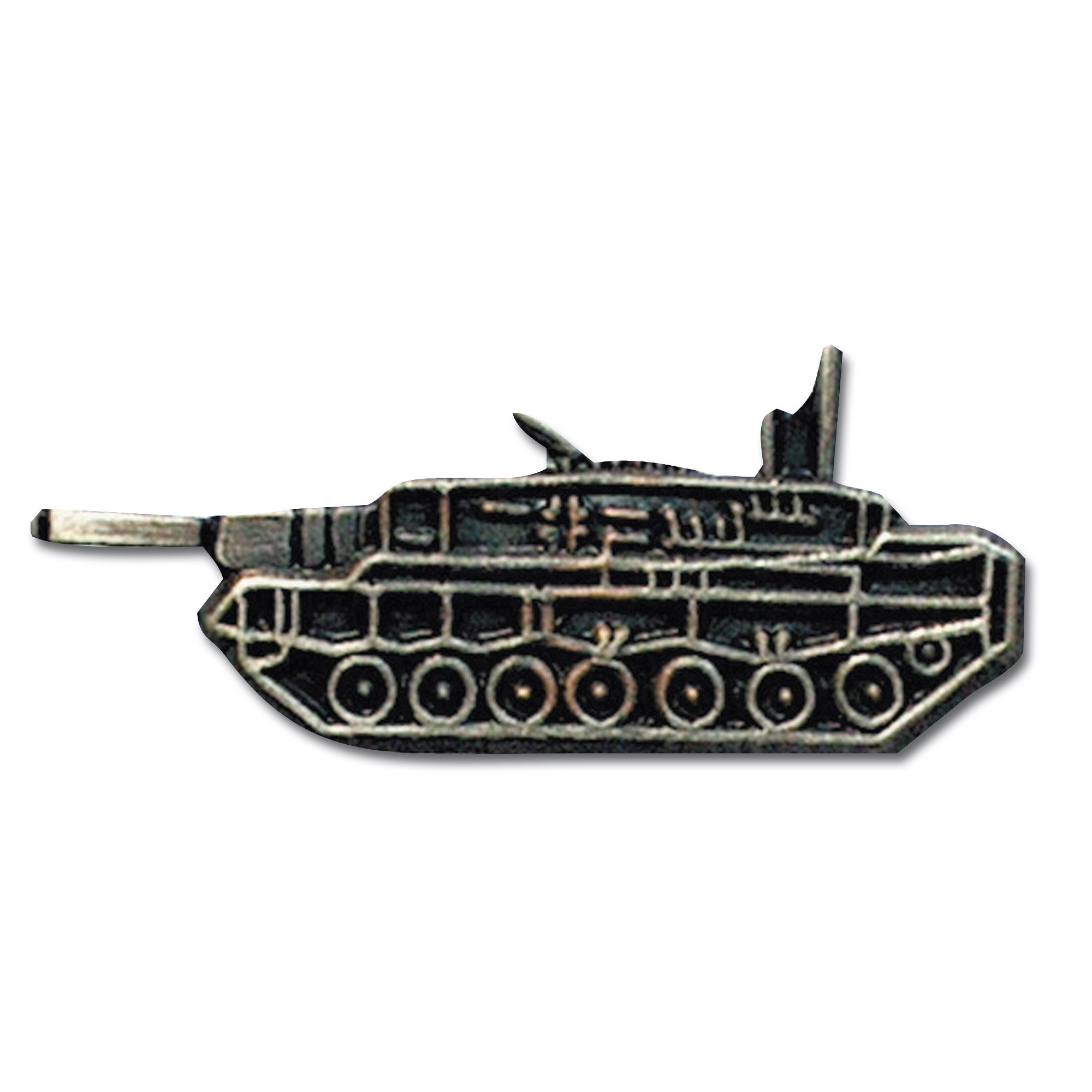 Pin Mini Metall Leopard 2