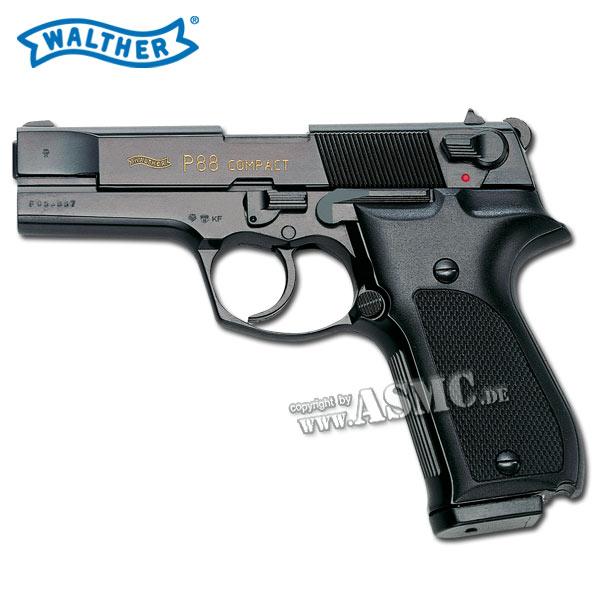Pistole Walther P88 brüniert