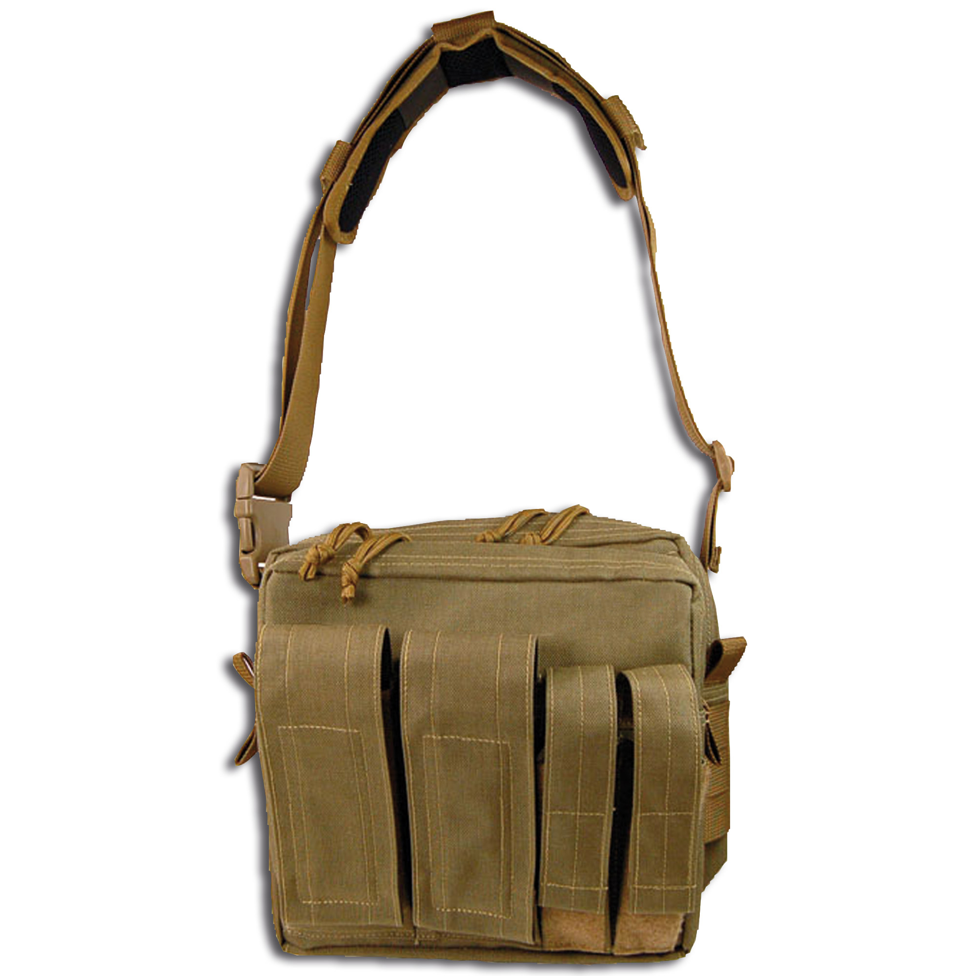 Maxpedition Active Shooter Bag Mag Front khaki
